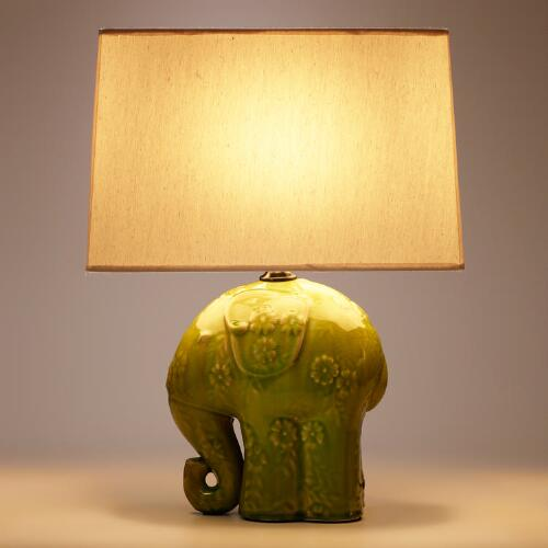 Elephant Ceramic Table Lamp World Market