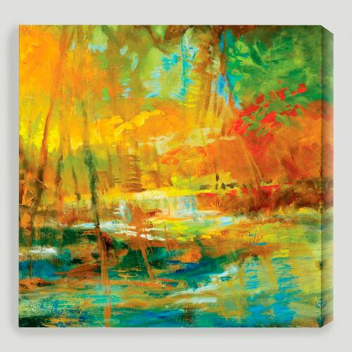 "World Market Lately: ""Late Summer's Expectation I"" By Sylvia Angeli"