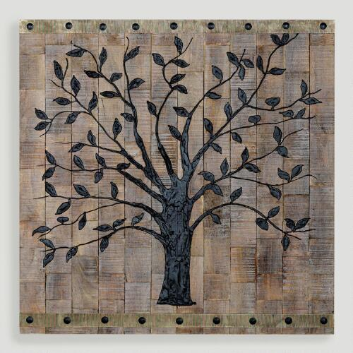 Wall Decorations Trees : Tree of life wall decor world market