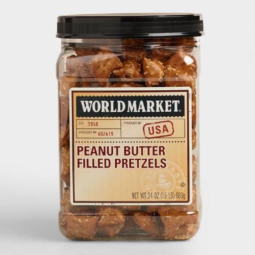 World Bazar: World Market® Peanut Butter Pretzel Tub