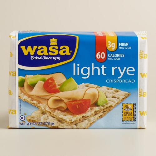 Wasa Light Rye Crispbread, Set of 12  World Market # Wasbak Breda_052053