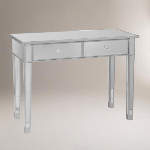World Market Table: Mirrored Console Table
