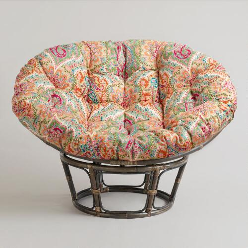 Venice papasan chair cushion world market Papasan cushion cover
