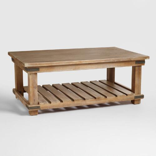 World Market Aiden Coffee Table: Cameron Coffee Table