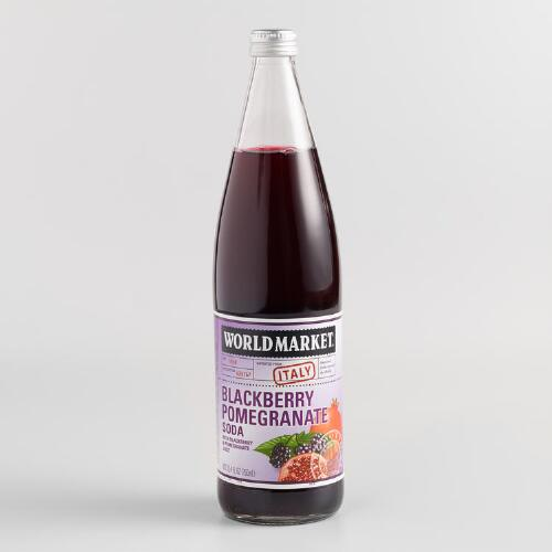 World Bazar: World Market® Blackberry Pomegranate Soda
