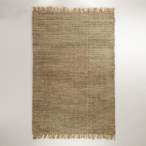 6 X 9 Chunky Cable Weave Jute Rug World Market