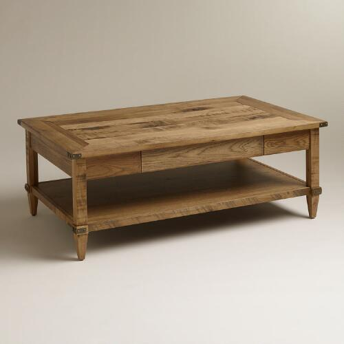Cost Plus Industrial Coffee Table: Atelier Coffee Table