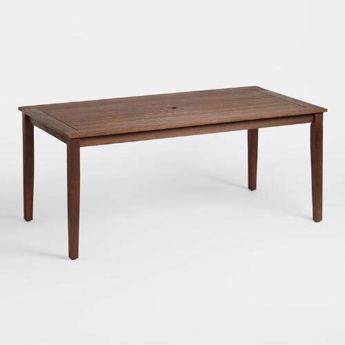 Dining Table World Market: Wood St Martin Dining Table