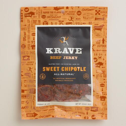 Krave Sweet Chipotle Beef Jerky | World Market