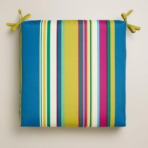 Thailand Stripe Outdoor Chair Cushion