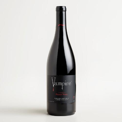 Vampire california pinot noir world market for Best pinot noir in the world