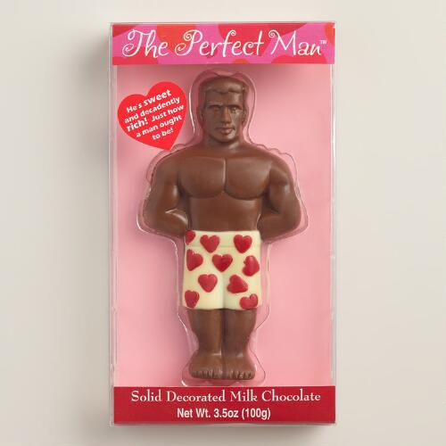 The Perfect Man™, Milk and White Chocolate