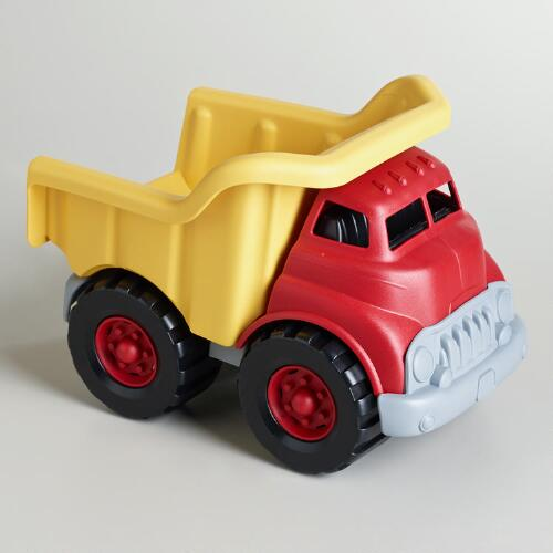 Green Toy Truck : Green toys dump truck world market