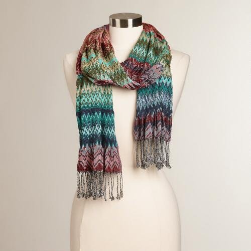 cool jacquard scarf world market