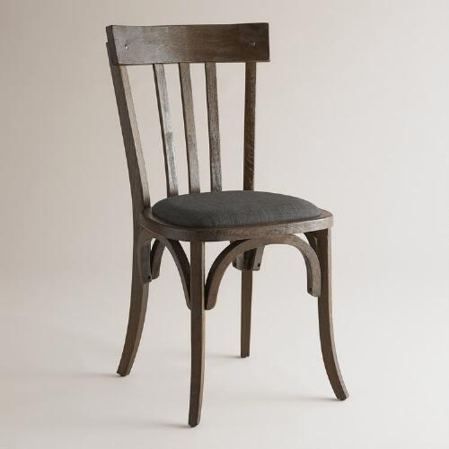 black rhett dining chairs set of 2 world market