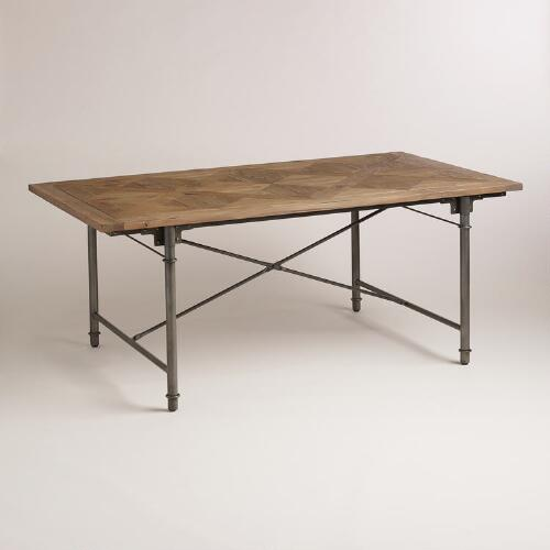 Dining Table World Market: Parquet Dining Table
