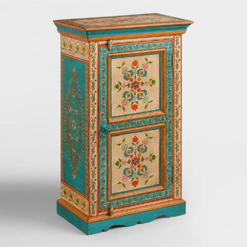 hand painted floral cabinet world market