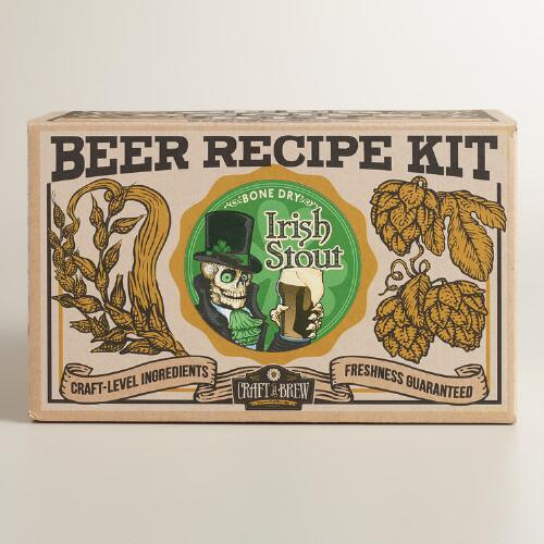 irish stout brew your own craft beer refill kit world market. Black Bedroom Furniture Sets. Home Design Ideas