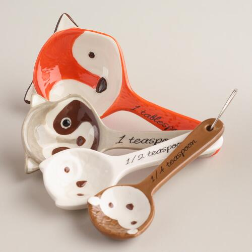 Measuring Spoons Near Me: Woodland Critters Measuring Spoons