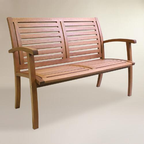 Discount Furniture Stores Near You: Wood Galena Bench