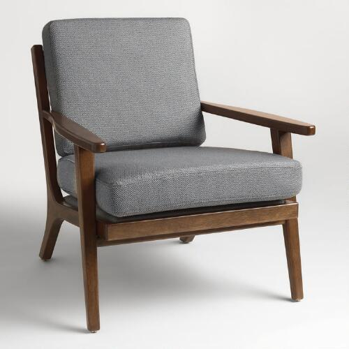 Slate Gray Xander Armchair World Market