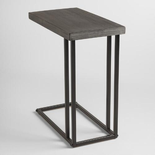 Coffee Table Wood And Metal Aiden Coffee Table World: Wood And Metal Kenway Laptop Table