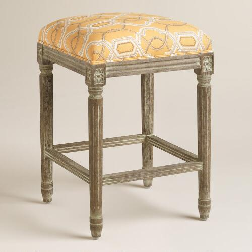 Turnabout Geo Paige Backless Counter Stool World Market