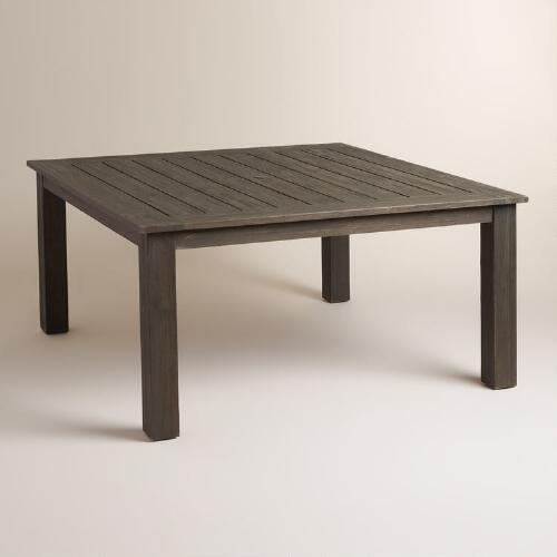Coffee Table World Market Round Coffee Table Silas Outdoor: Espresso Wood Hermosa 8 Seat Dining Table