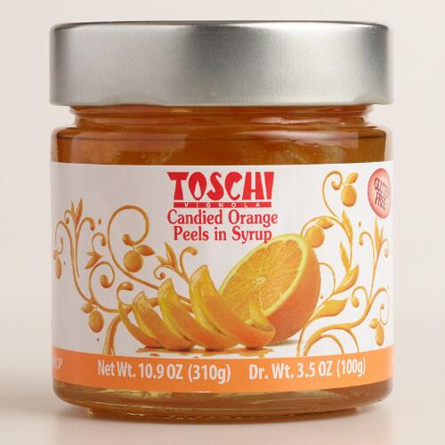 Toschi Candied Orange Peels in Syrup | World Market