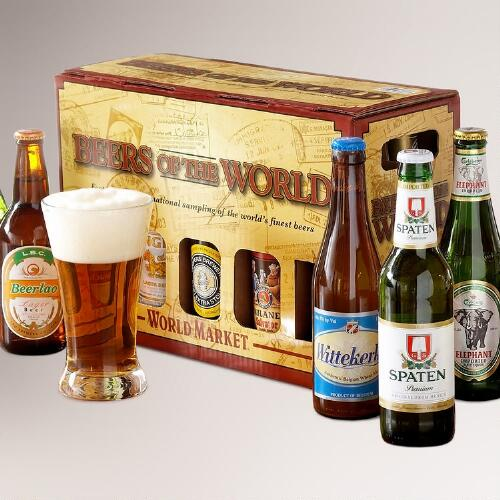 World Bazar: Beers Of The World 10-pk