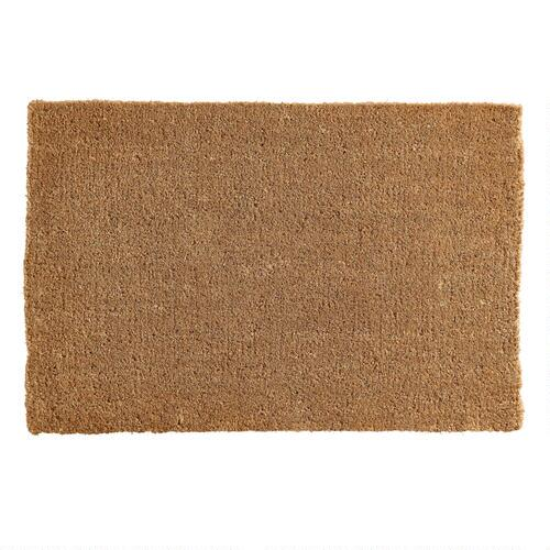 Coir Basic Doormat World Market