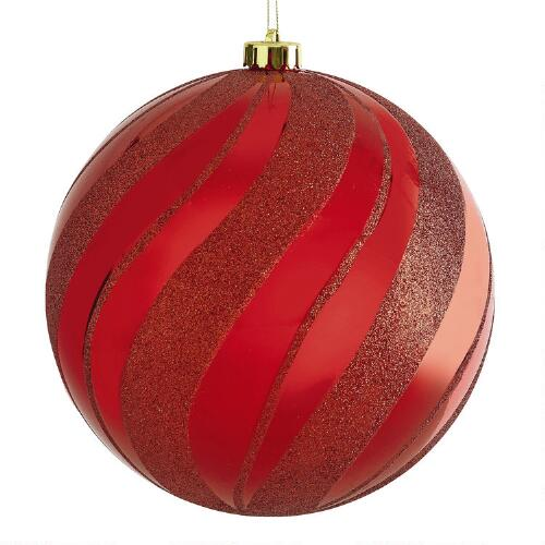 Jumbo Christmas Ornaments. When gifts are given at midnight, you can imagine the beaming smile and receptor recognition. At the very big party, customer gift, employees, etc is wonderful ideas that help make the perfect relationship between all of you.