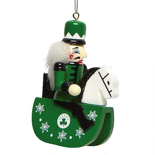 Boston Christmas Tree Delivery: Boston Celtics Forever Collectibles™ Nutcracker Ornament