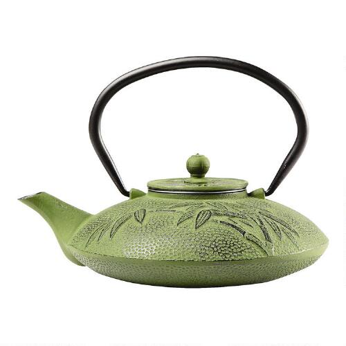 how to use a cast iron teapot