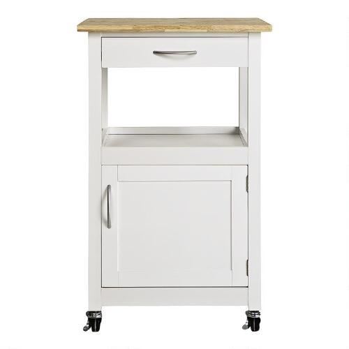Rolling Kitchen Cart With Drawer And Cabinet Christmas Tree Shops
