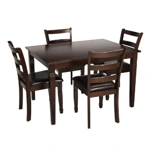 Gathering Table And Chairs Dining Set 5 Piece Christmas Tree Shops