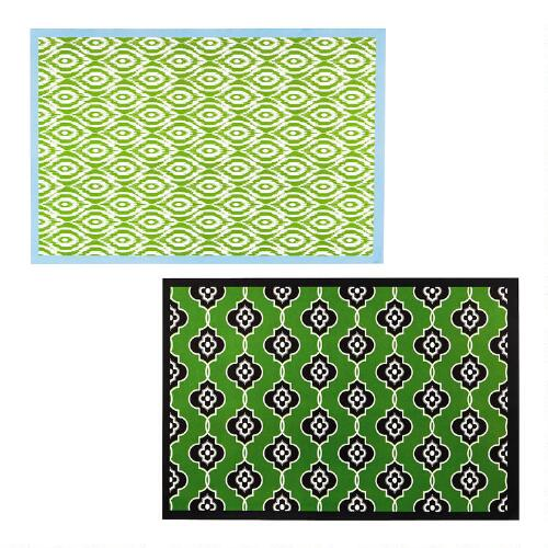 Trendy Prints 48 Ct Paper Placemats 2 Pack Christmas