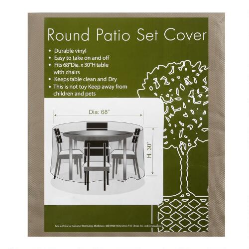 All Weather Round Patio Set Cover Christmas Tree Shops AndThat