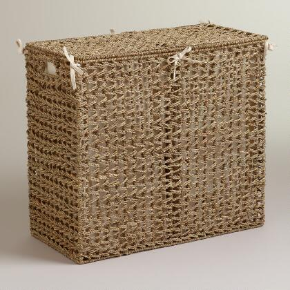 X - Divided laundry hampers ...