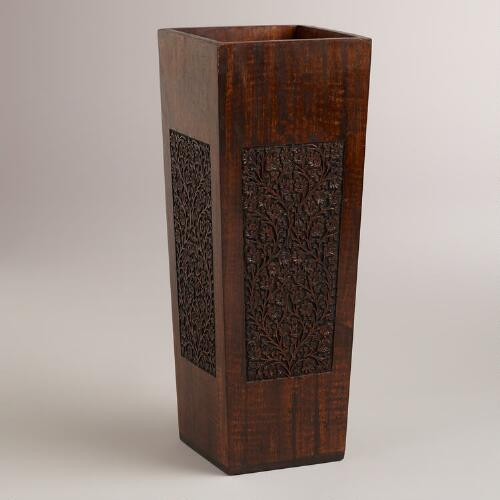 Veda Wood Umbrella Stand