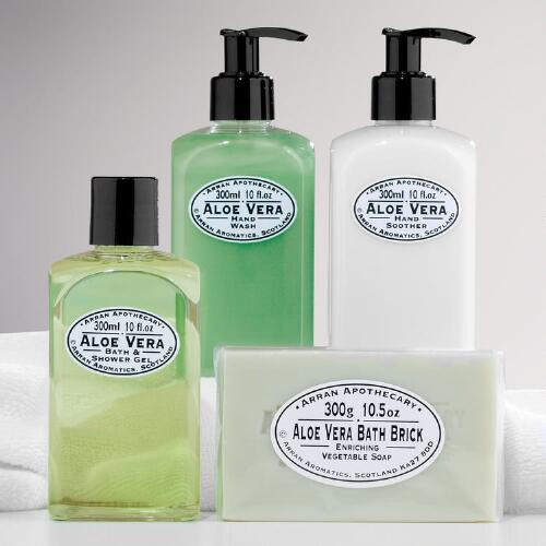 Arran Apothecary Aloe Vera Bath Collection