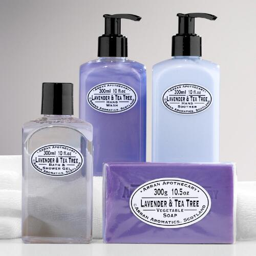 Arran Apothecary Lavender & Tea Tree Bath Collection