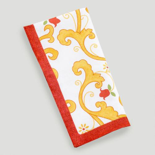 Lisbon All-Over Print Napkins, Set of 4