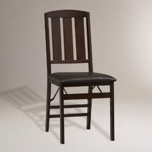 Ashland Folding Dining Chairs, Set of 2