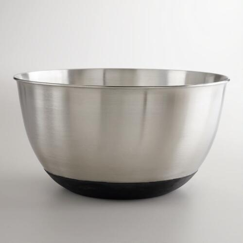 Stainless Steel Mixing Bowls with Silicone Bases