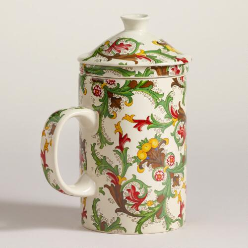 Italian Paper Fruit Infuser Mug, Set of 2