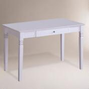 White Wood Douglas Desk