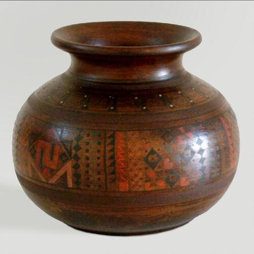 Novica Inca Mother Cuzco Vase
