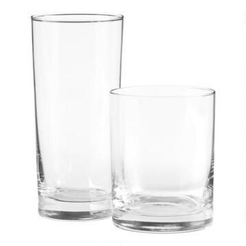 Heavy Sham Glassware Collection