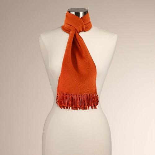 Novica Winter Sun Alpaca Wool Scarf